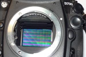 czyszczenie matrycy nikon d700 2146824 przed - Naprawa aparatów cyfrowych Nikon