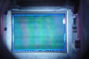 czyszczenie matrycy sony a330 sensor po - wykonano w serwisie Suel