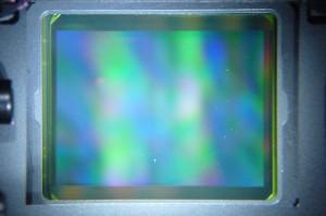 czyszczenie matrycy olympus e620 sensor przed - Foto serwis Suel